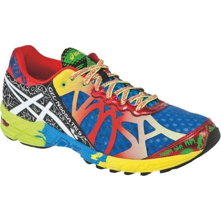 the best attitude 15a12 b2c77 Asics Gel-Noosa Tri 9 Road Running Shoe - Men s-Royal White
