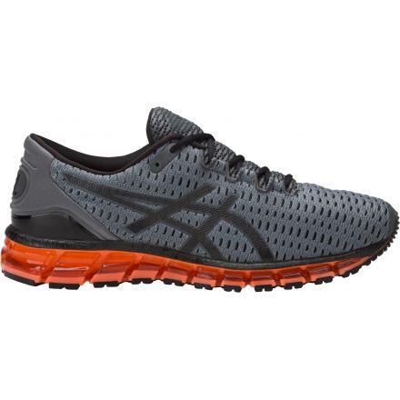 Cuántica Asics Gel 360 Mens Zapatos De Carbono / Negro / Naranja UVQ6My