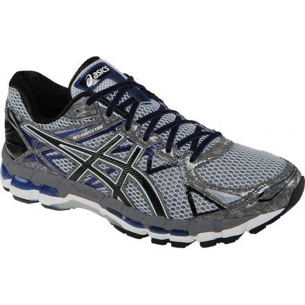 Gel-Surveyor 3 Road Running Shoe - Mens-Stone/Black/Blue-