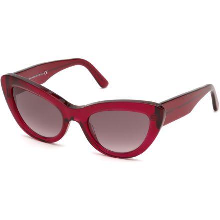 55980cc141a8 Balenciaga BA0129 Sunglasses - Shiny Red Frame Color, Gradient Bordeaux  Lens Color