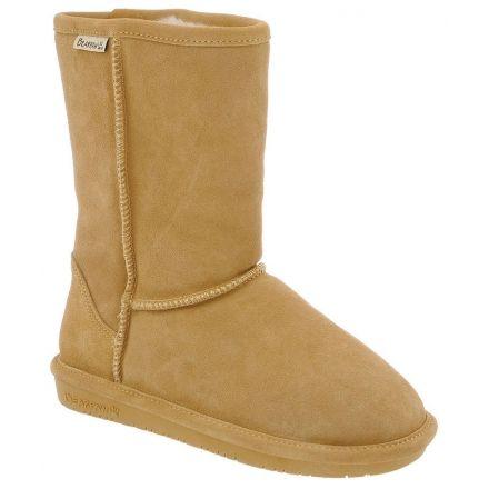 500c088249be BearPaw Emma Short Winter Boot - Womens-Dark Honey-Medium-10 US