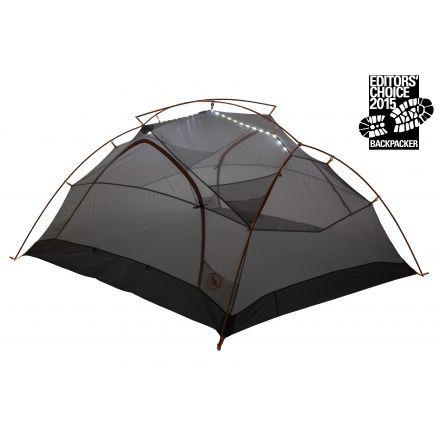 Big Agnes Copper Spur UL 3 mtnGLO Tent-Silver/Gray  sc 1 st  C&Saver.com & Big Agnes Copper Spur UL 3 mtnGLO Tent - 3 Person 3 Season ...