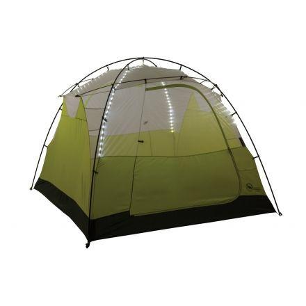 Big Agnes Gilpin Falls Powerhouse 4 mtnGLO Tent - 4 Person 3 Season-White  sc 1 st  C&Saver.com & Big Agnes Gilpin Falls Powerhouse 4 mtnGLO Tent - 4 Person 3 ...