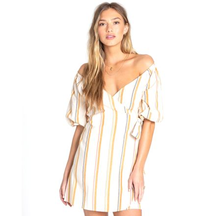 53bcf87901 Billabong Best Dressed Dress - Womens, White Cap, Extra Small, JD16TBBE-WCP