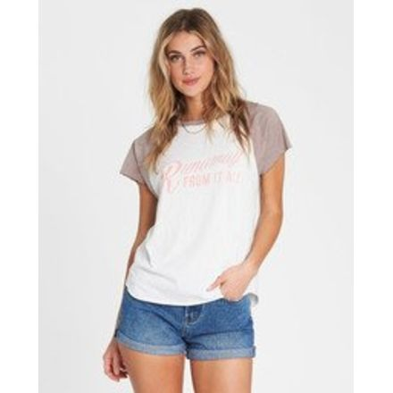 190f7eb0 Billabong Worn Soul Tee - Womens, Coyote, Extra Small, J907SBWO-COY-
