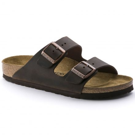 b3627fb7e6c Birkenstock Arizona Leather Soft Footbed Sandal - Unisex with Free ...
