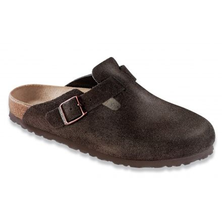 61d40d177e0 Birkenstock Boston Suede Soft Footbed Sandal - Womens with Free S H ...