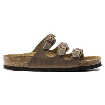 cc451c7da Birkenstock Florida Soft Footbed Oiled Leather Sandals - Womens,  Spectacular Pink, Medium, 37