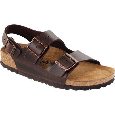 d721a5f2aba26 Birkenstock Milano Amalfi Leather Soft Footbed Sandal - Unisex