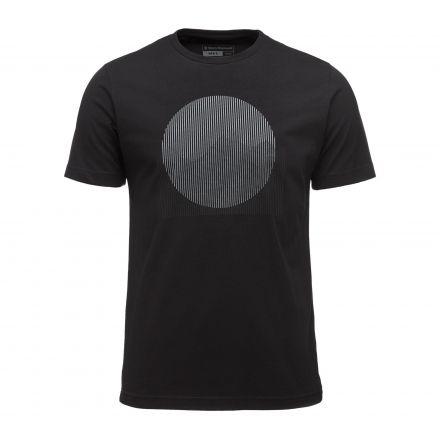 Black Diamond Landscape Logo Mens Short Sleeve Tee Shirt, Black, Large,  APK3Q9015LRG1 - Black Diamond Landscape Short Sleeve Tee Shirt - Men's — CampSaver