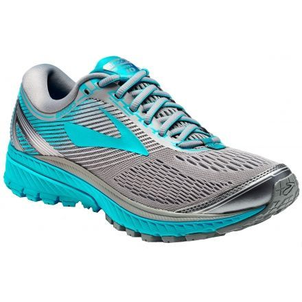 14af2a68d02 Brooks Ghost 10 Road Running Shoe - Women s-Primer Grey Teal Victory Silver