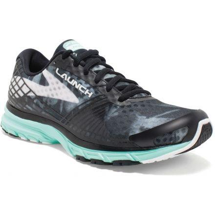 4e346fa9c0c98 Brooks Launch 3 Road Running Shoe - Women s-Black White IceGreen-Medium