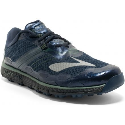 264a3f0a848af PureGrit 5 Trail Running Shoe - Mens-Blue Green Black-Medium-