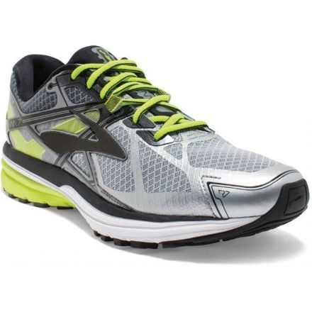 d02fdc8422ccd Ravenna 7 Road Running Shoe - Mens-Silver Nightlife Black-Medium-