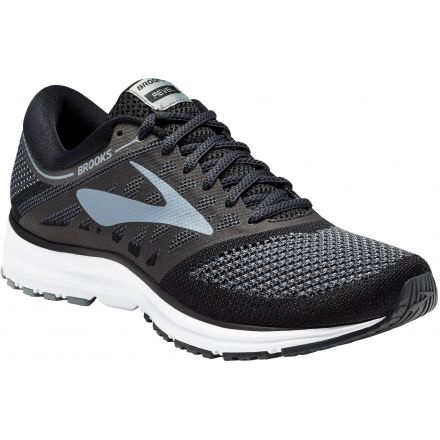 2b22b68bf33 Brooks Revel Road Running Shoe - Men s-Black Anthracite Primer Grey-Medium