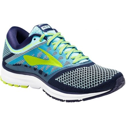 a08579fdc91 Brooks Revel Road Running Shoe - Women s-Island Blue Evening Blue Lime  Popsicle