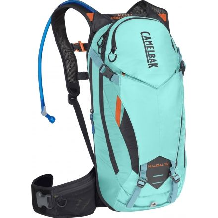 76eafd92121 CamelBak Kudu Protector Backpack 10, Lake Blue/Laser Orange, Small/Medium,