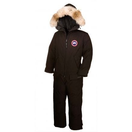 Canada Goose Arctic Rigger Coverall - Men's-Black-Small