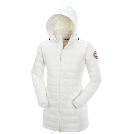 Canada Goose Camp Hooded Jacket - Women s-White-X-Large c8deca3e6