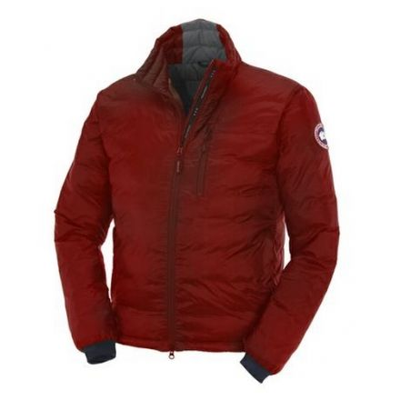 Canada Goose Lodge Jacket - Mens-Red-Small