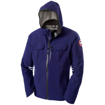 Canada Goose Moraine Shell Jacket - Mens-Pacific Blue-Small