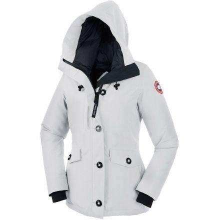 canada goose jacket womens white