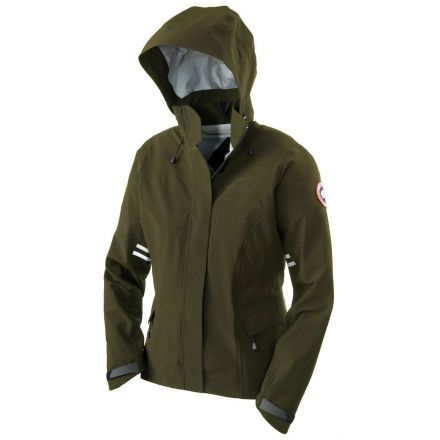 canada goose Raincoats Military Green