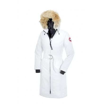 Canada Goose Whistler Parka - Women's-White-XX-Small