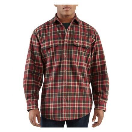 najwyższa jakość niezawodna jakość odebrać Carhartt Hubbard Plaid Shirt - Men's-Dark Red-Small — CampSaver