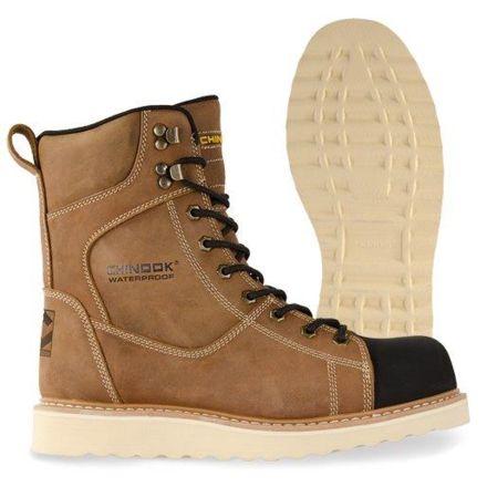 fc6452e5f62 Chinook Footwear Iron Worker Waterproof Boots - Mens