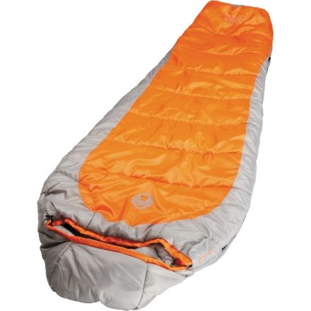 Coleman Sleeping Bag Mummy Silverton Orange Silver 150 187549