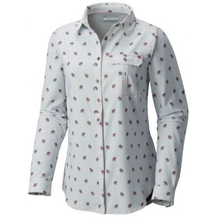 c4e52729 Columbia Bryce Canyon Stretch Long Sleeve Shirt - Womens, Blush Pink Campin  Chairs Prt,