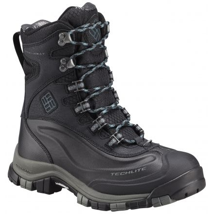 Columbia Bugaboot Plus OmniHeat Michelin Winter Boot  WomensBlack Cloudburst