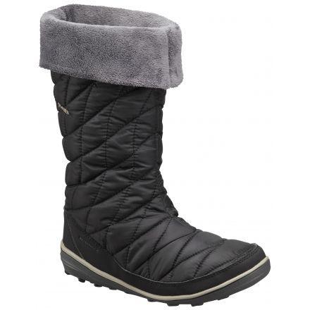 2b16ed7ccd66 Columbia Heavenly Omni-Heat Slip Winter Boot - Women's-Black/Kettle-Medium