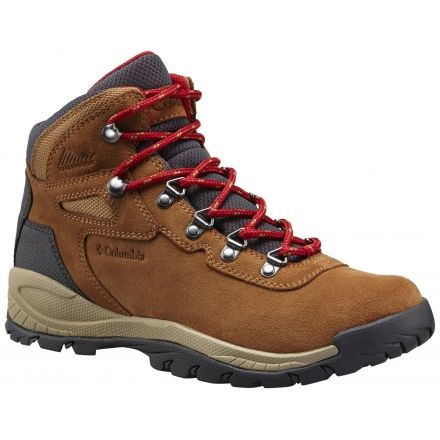 Columbia NEWTON RIDGE PLUS II WATERPROOF - Walking boots - elk/mountain red 3x1FpgNkyJ