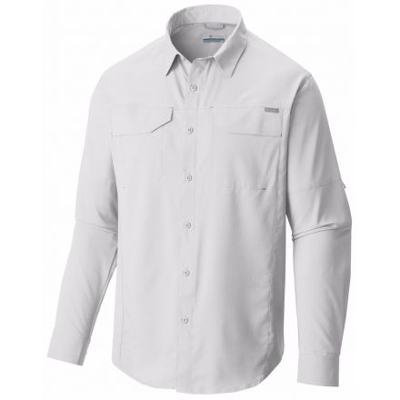 Columbia Silver Ridge Lite Long Sleeve Shirt - Men's-White-Small