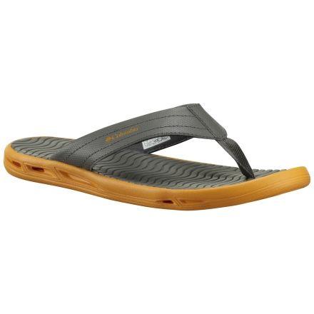 b179660eace8 Columbia Vent Cush Flip Sandal - Men s-Charcoal Orange-Medium-9