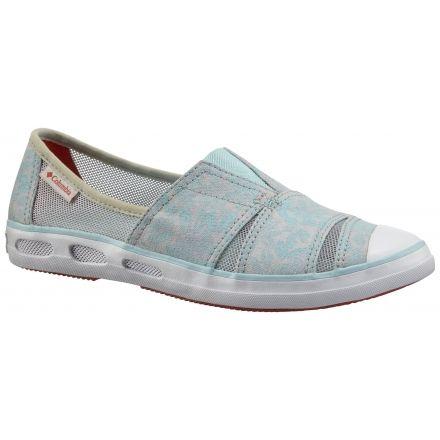 67e2f50cc7 Columbia Vulc N Vent Slip Casual Shoe - Women s-Cool Grey Zing-Medium