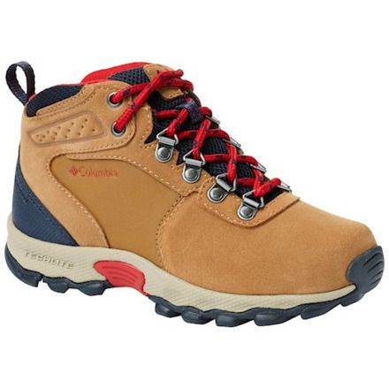 d1f779c5986 Columbia Youth Newton Ridge Suede Hiking Boots