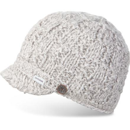 f3f2590f1ee61 Dakine Audrey Hat - Womens 10000819-GREY-91M-OS
