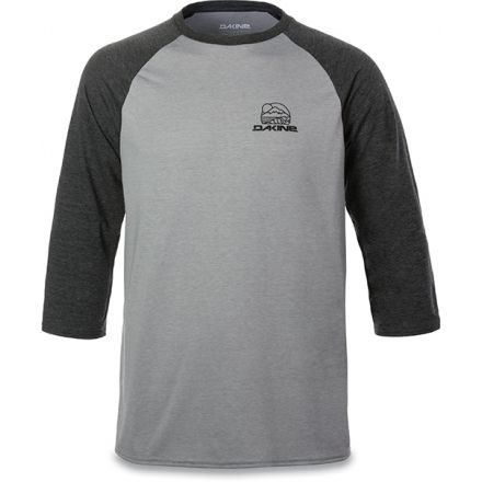 Dakine Well Rounded 3 4 Raglan Tech T - Men s 10001866-HEATHERDKG ... 8a6796137