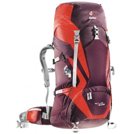 80219c773d Deuter ACT Lite 45 + 10 L SL Backpack-Blackberry Aubergine — CampSaver