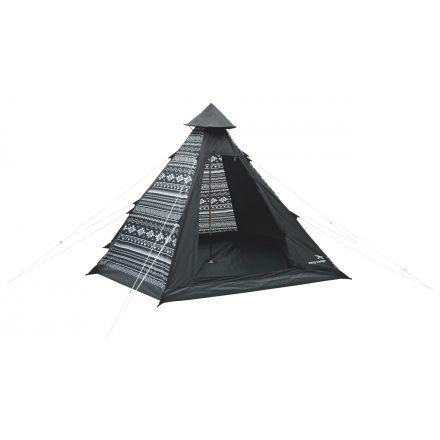 Easy C& 2 Person Tipi Tent Tribal Black / White 120179  sc 1 st  C&Saver.com & Easy Camp 4-Person Tipi Tent 120179 with Free Su0026H u2014 CampSaver