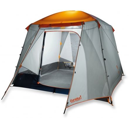 Eureka Silver Canyon 4 Tent - 4 Person 3 Season-Orange/Grey  sc 1 st  C&Saver.com & Eureka Silver Canyon 4 Tent - 4 Person 3 Season u2014 CampSaver