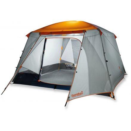 Eureka Silver Canyon 6 Tent - 6 Person 3 Season-Orange/Grey  sc 1 st  C&Saver.com & Eureka Silver Canyon 6 Tent - 6 Person 3 Season u2014 CampSaver