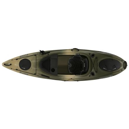Evoke Paddle Sports Conquer 100 Fishing Kayak Campsaver