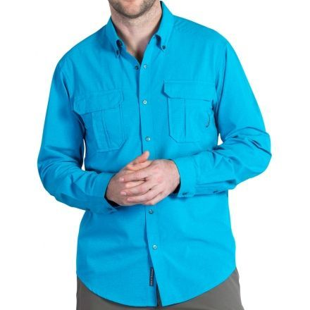 ExOfficio Air Space Long Sleeve Shirt - Men's — CampSaver