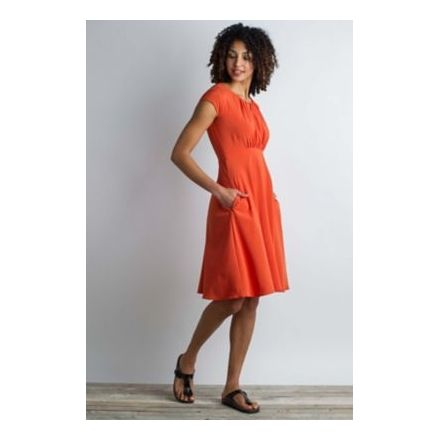 4281ae8b2a ExOfficio Kizmet Cross-Front Dress Women's, Paprika, 6 20613100-3530_6