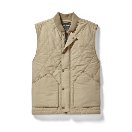 Filson Quilted Pack Vest Men S