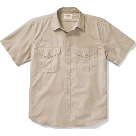 a63a14cdbea52 Filson Short Sleeve Feather Cloth Shirt